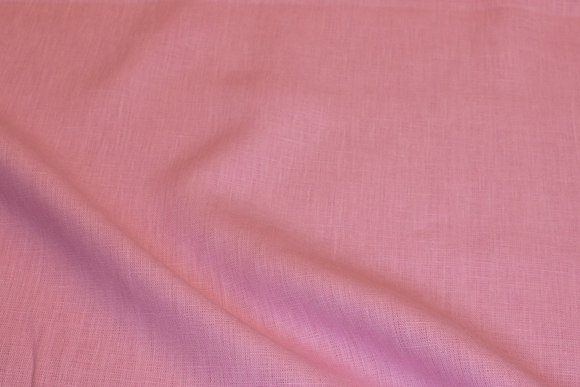 100% linen in soft red