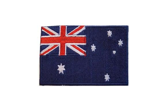 Australia flag patch 6x9cm
