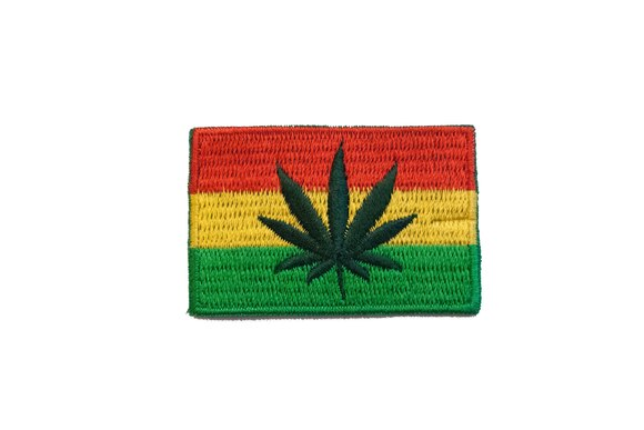 Rastafari flag 3x5cm