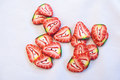 Strawberry buttons 1,4cm