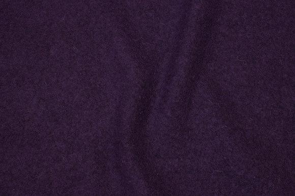 Felt wool in deep dark purple