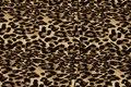 Polyester stretch-crepe in jaguarmønster