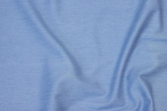 Lightweight shirt-denim in light blue