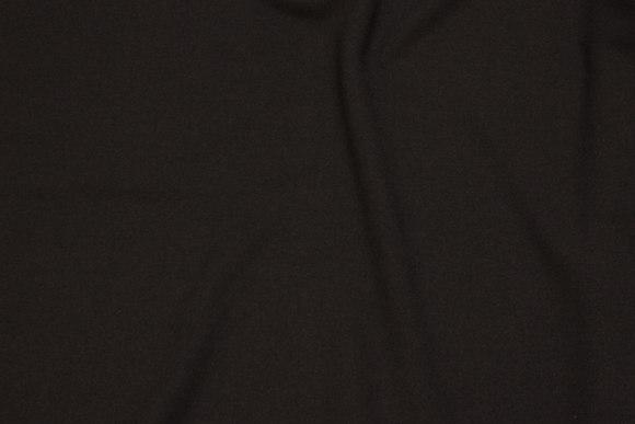 Dress stretch-crepe in black