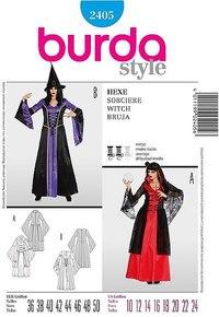 Wizard / witch. Burda 2405.