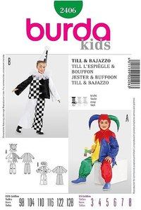 Clowns. Burda 2406.