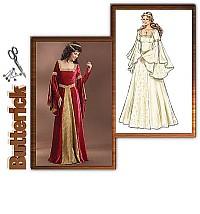 Costume dress. Butterick 4571.