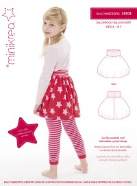 Balloon skirt. Minikrea 30103.