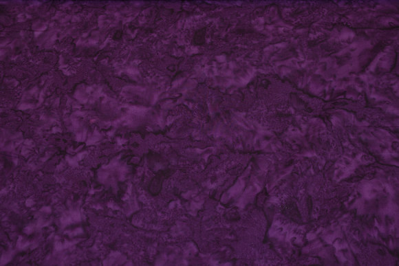 Batique-cotton in dark eggplant-color