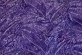 Batique-cotton in purple and light-purple.