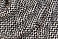 Bouclé fabric with goldlurex