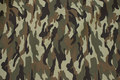Camouflage-fabric for pants, jackets etc. in polyester and cotton.