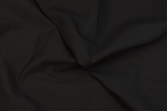 Cotton canvas in black