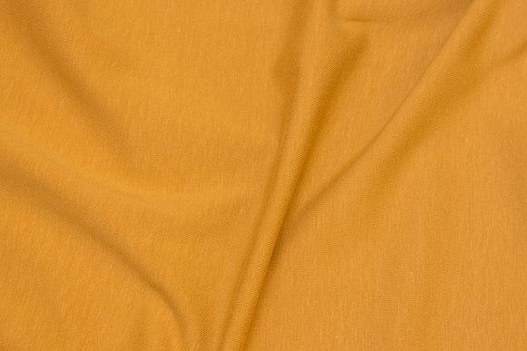 Cotton-jersey in dark brass