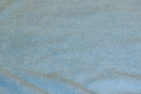 Double woven terry cloth in light blue