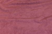 Double woven terry cloth in old rose