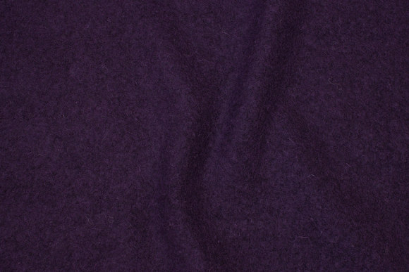 Felt wool in deep dark purple