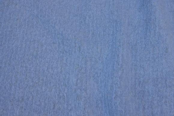 Felt wool in light dusty blue