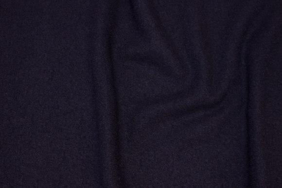 Lightweight bouclé in dark navy wool and viscose