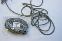 Parachute cord army/gry