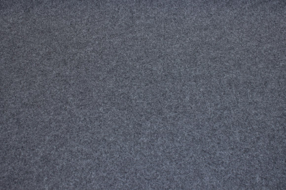 Rugged 4 mm thick felt in speckled grey