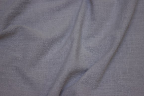 Soft cotton in grey with lightweight crinkle