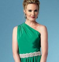 Butterick 5987. Dress with shoulder strap.