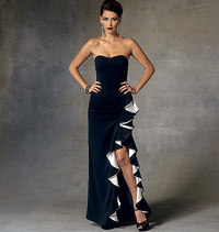 Vogue pattern: Dress Home, Badgley Mischka