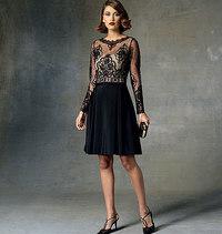 Vogue pattern: Dress Home, Tom and Linda Platt