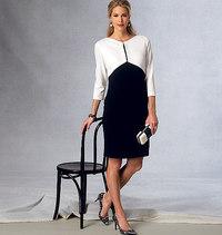 Vogue pattern: Dress Home with jacket effect, Tom and Linda Platt