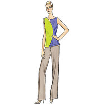 Vogue pattern: Top, Dress and Pants