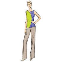 Vogue 9079. Top, Dress and Pants.