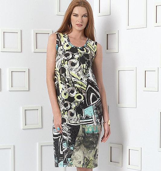 d0c4ffa1 Vogue 9081 Cardigan og Kjole, Marcy Tilton | FJØLNER