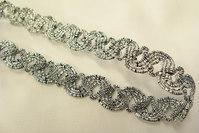 Silver ribbon 1,2cm