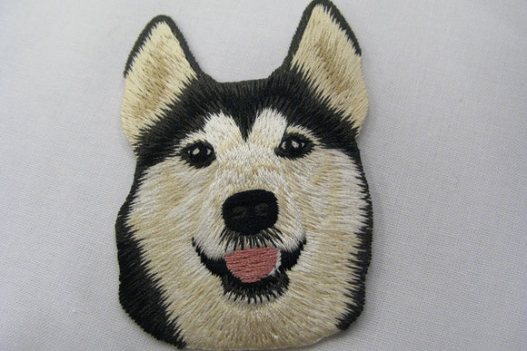 Dog Patch 7x5cm