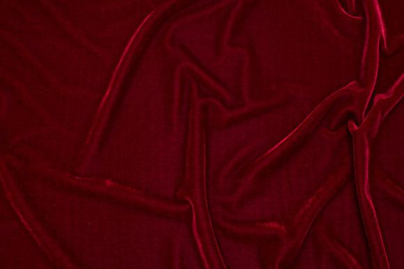 Silky-velvet in bordeaux