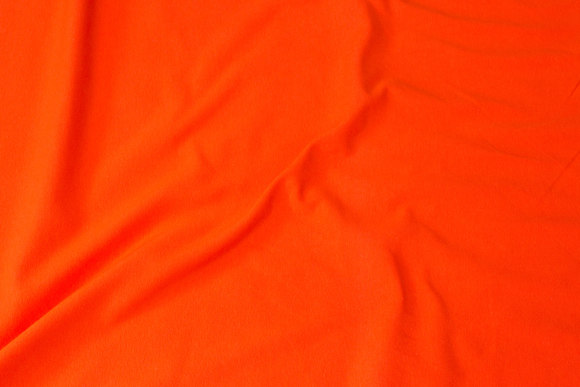 Orange cotton-jersey