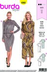 Burda 6362. Dress for jerseys.