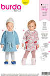 Burda 9327. Dress for small children.