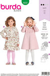 Burda 9332. Dresses and blouses for small children.