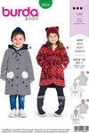 Burda 9334. Coats and jackets for children.