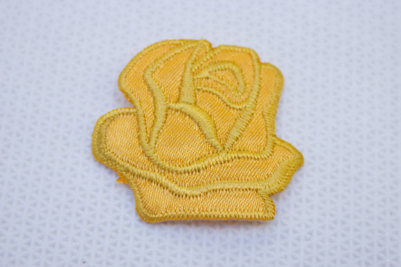 Curry rose patch size 3.5 cm