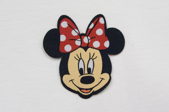 Minnie Mouse patch 6x6cm