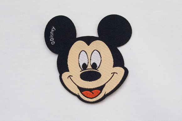 Mickey Mouse patch 6x6cm