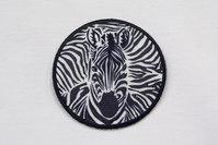 Zebra patch 6,5cm