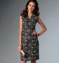 Petite Dress, Vogue Easy Options. Vogue 9050.