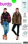Burda 6359. Fur jacket in variations.