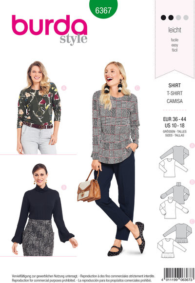 Blouse in variations