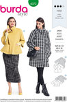 Burda 6372. Raglan-jacket in classic design.