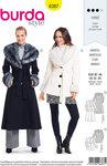 Burda 6387. Coats and jackets with pelskraver.